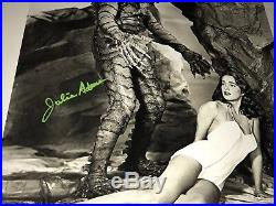 Julie Adams SIGNED Creature From The Black Lagoon 16x20 Photo PROOF JSA COA