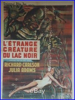 L'ETRANGE CREATURE DU LAC NOIR (CREATURE FROM BLACK LAGOON) Affiche entoilée