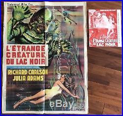 Letrange Créature Du Lac Noir / Creature From The Black Lagoon / Affiche