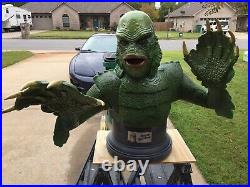 Life Size Bust 11 Creature From The Black Lagoon