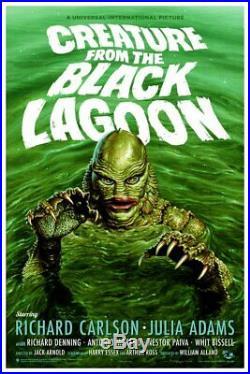 MONDO CREATURE FROM THE BLACK LAGOON poster by Jason Edmiston