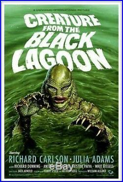 Mondo CREATURE FROM THE BLACK LAGOON Jason Edmiston Universal Monsters