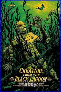 Mondo Creature From The Black Lagoon Art Print Poster Johnny Dombrowski XX250