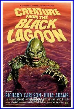 Mondo Creature From The Black Lagoon Variant Jason Edmiston Art Print Poster 150