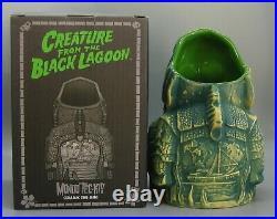 Mondo Creature From the Black Lagoon Universal Monsters Green Tiki Mug withBox NEW