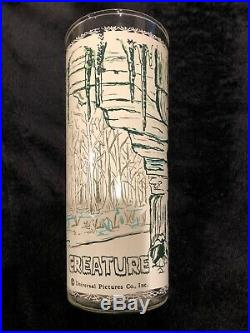 Original 1963 UNIVERSAL PICTURES CREATURE FROM THE BLACK LAGOON Drinking Glass