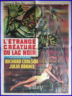 Poster the NIGHTMARE before Creature of Lake Black from Lagoon 23 5/8x31 1/2in