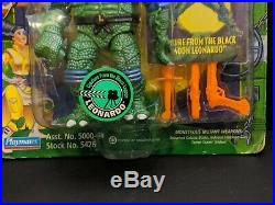 RARE 1994 TMNT Universal Monsters Creature from Black Lagoon Leonardo MOC sealed