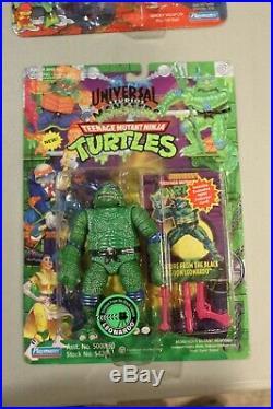 RARE 1994 TMNT Universal Monsters Creature from the Black Lagoon Leonardo MOC NM