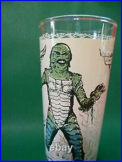 RARE Vintage CREATURE FROM THE BLACK LAGOON Universal Pictures GLASS Promo MINT
