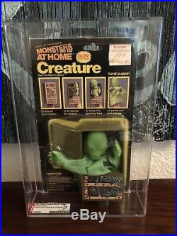 REMCO Monsters at Home CREATURE FROM THE BLACK LAGOON Hand Puppet 1981 AFA Grade