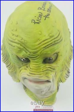 RICOU BROWNING signed MASK Creature from the Black Lagoon JSA WPP274309 HORROR