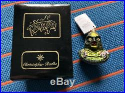 Radko Creature From The Black Lagoon Universal Monsters Christmas Ornament AHI