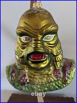 Radko Creature from the Black Lagoon Ornament Universal Monster RARE Halloween