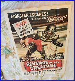 Revenge Of The Creature From The Black Lagoon Original Movie Poster