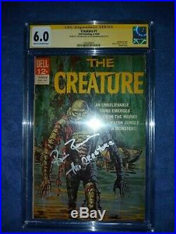 Ricou Browning CGC SS 6.0 The Creature from the Black Lagoon Dell Comic