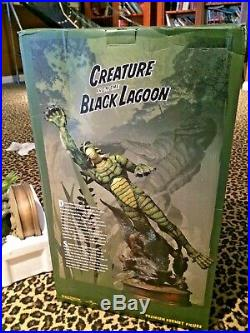 Sideshow Creature From The Black Lagoon Premium Format In Box