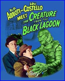 Super 8 Sound ABBOTT & COSTELLO Meet THE CREATURE FROM THE BLACK LAGOON Rare