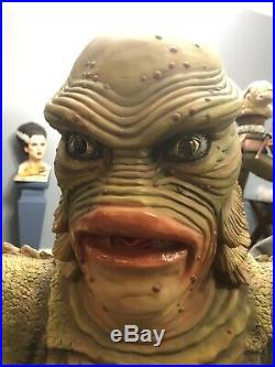 THE CREATURE FROM THE BLACK LAGOON Life Size 360 Bust 11 Scale One Of A Kind