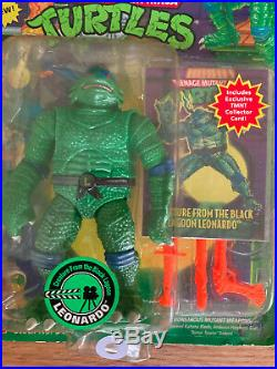 TMNT Universal Studios Monsters Leonardo Creature From The Black Lagoon 1994
