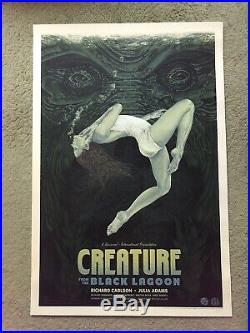 Timothy Pittides Creature From The Black Lagoon Art Poster Print Mondo