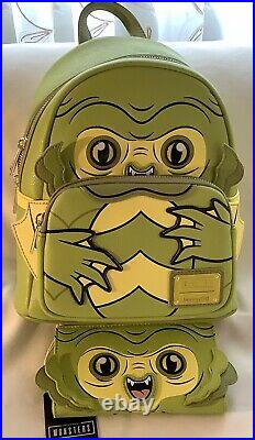 Universal Monsters Backpack & Wallet Creature From The Black Lagoon Loungefly