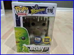 Universal Monsters Creature From The Black Lagoon Funko Pop! (Glow) Rare! VGC