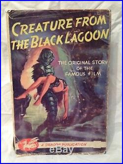 Vargo Statten Creature from the Black Lagoon 1st/1st 1954 in Original Jacket