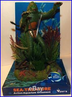 Veny's 2013 Creature from the Black Lagoon Aquarium Ornament with Display Box