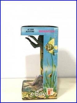 Vintage 1971 PENN-PLAX Creature from the Black Lagoon Action Aquarium Monster