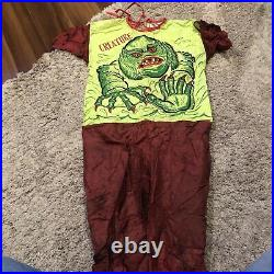 Vintage Ben Cooper Creature From the Black Lagoon Boxed Costume! Tough to find