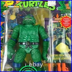 Vintage Ninja Turtles Creature from the black Lagoon Leonardo Universal Studios