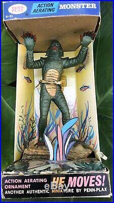 Vintage Penn Plax Creature from the Black Lagoon Aquarium Figure dated 1970