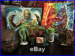 Vintage Remco Creature From The Black Lagoon Lot. Mego