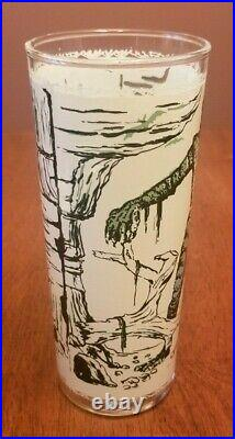 Vtg Creature From The Black Lagoon Universal Pictures Monster Drinking Glass